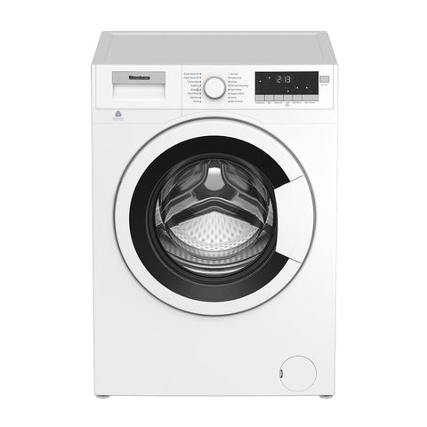 "Blomberg WM98200SX 24"" 2.5 Cu. Ft. Compact Front Load Washer with White Door"