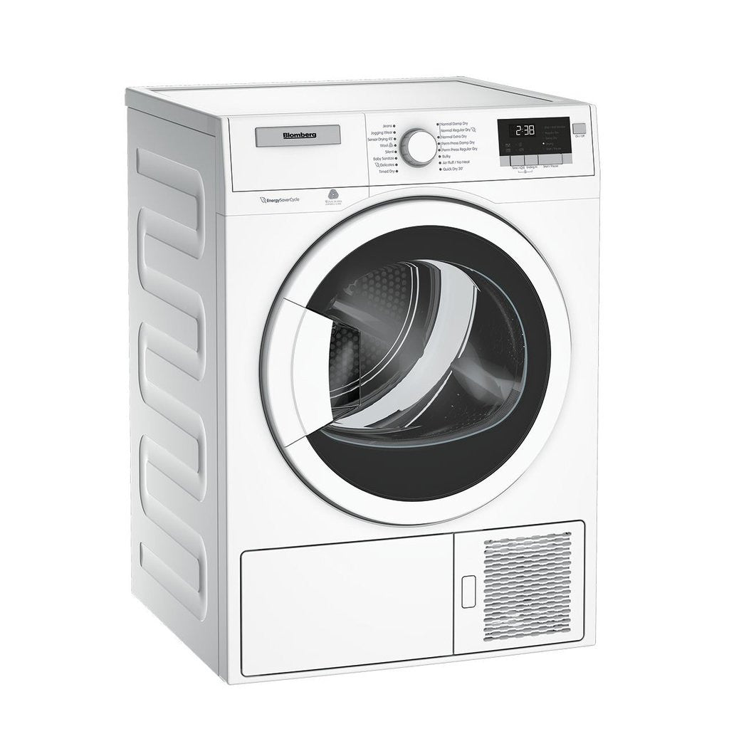 Compact Front Load Washers Blomberg Wm98200sx Compact Washer And Blomberg Dhp24400w Ventless