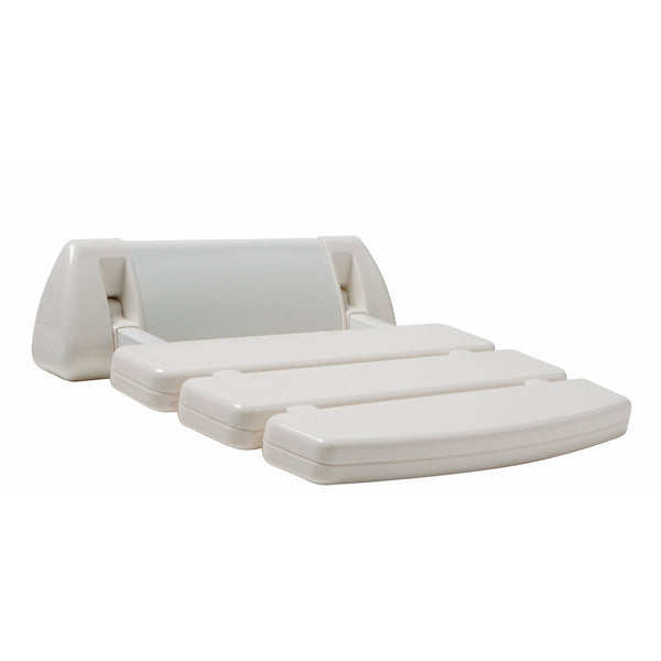 Amerec 9270-02 Universal Plastic Relax Shower Seat - Mega Supply Store
