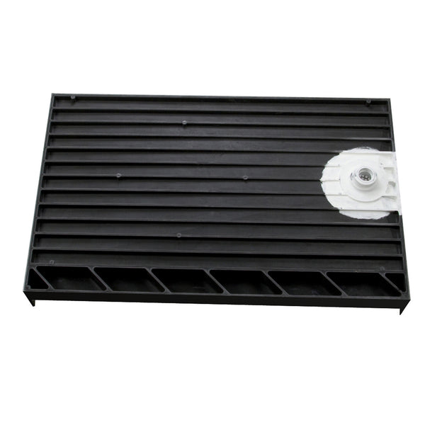"Tile Redi 3060LSPVC-13-2-4 30"" x 60"" Integrated Left Hand Side PVC Drain Set 13"" off back splash wall - Mega Supply Store - 1"