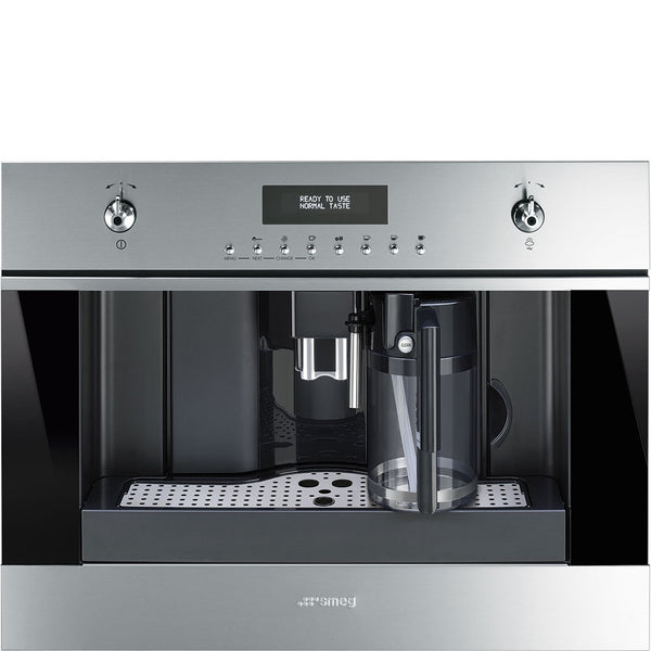 Smeg CMSU6451X Fully-Automatic Coffee Machine with Milk Frother - Mega Supply Store - 1