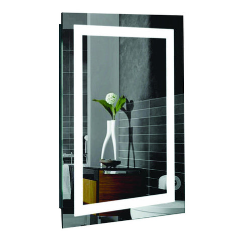 "Creators Civis CVMA2436LED LED 24"" x 36"" Malisa Lighted Bathroom Mirror - Mega Supply Store - 1"