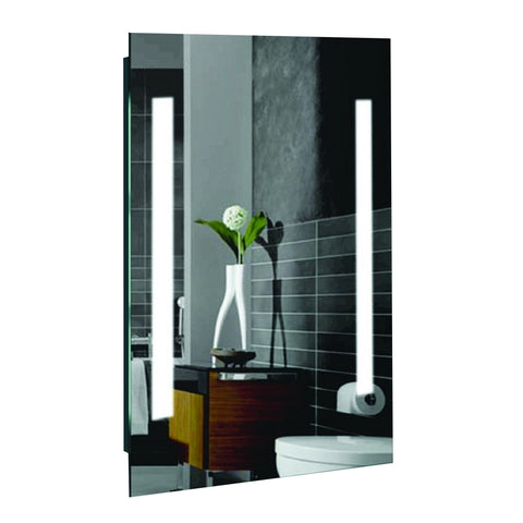 "Creators Civis CVAL2436LED LED 24"" x 36"" Alexander Lighted Bathroom Mirror - Mega Supply Store - 1"
