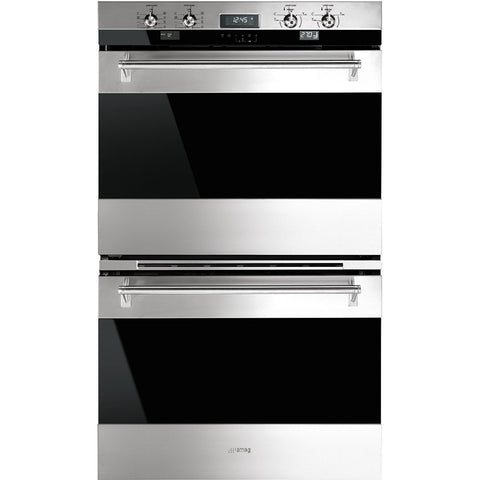 "Smeg DOU330X1 30"" ""Classic"" Electric Multifunction Double Oven - Mega Supply Store - 1"