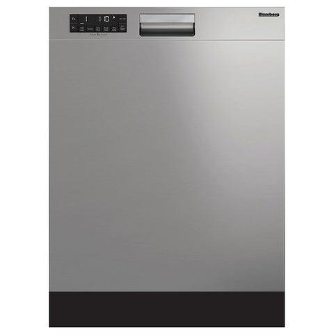 Blomberg DW25502SS Standard Height Dishwasher 5 Cycle Front Control Stainless 49 dBA - Mega Supply Store
