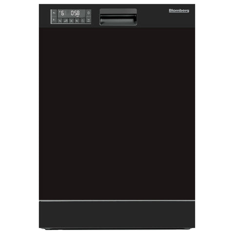 Blomberg DWT25502B Tall Tub Dishwasher 5 Cycle Front Control Black 49 dBA - Mega Supply Store
