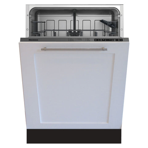 Blomberg DWT56502FBI Tall Tub Dishwasher 5 Cycles Top Control Full Integrated Panel Overlay 48 dBA - Mega Supply Store
