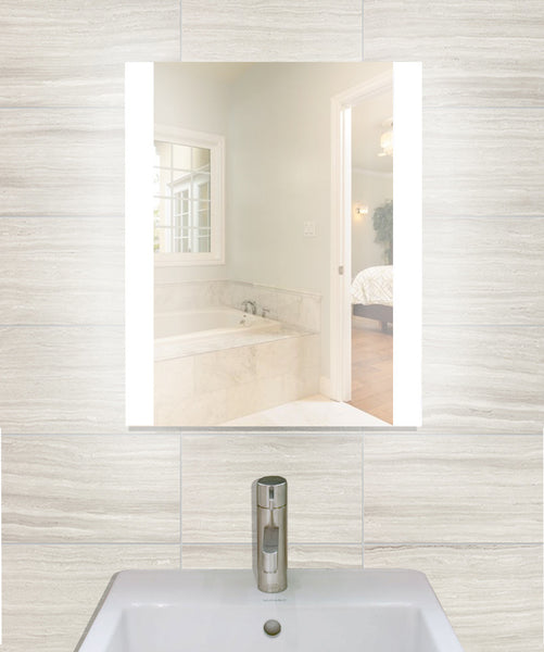 "Creators Civis CVCH2024LED LED 20"" x 24"" Charli Lighted Bathroom Mirror - Mega Supply Store - 1"