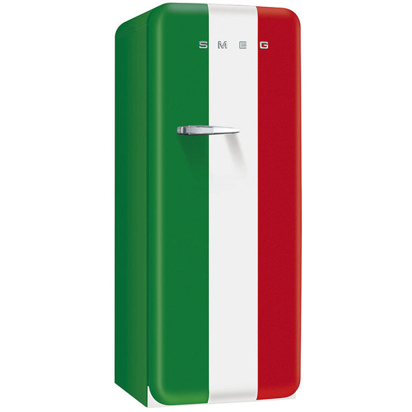 Smeg FAB28UITR1 50s Stlye Refrigerator With Freezer Compartment. Special Edition Italian Flag. - Mega Supply Store