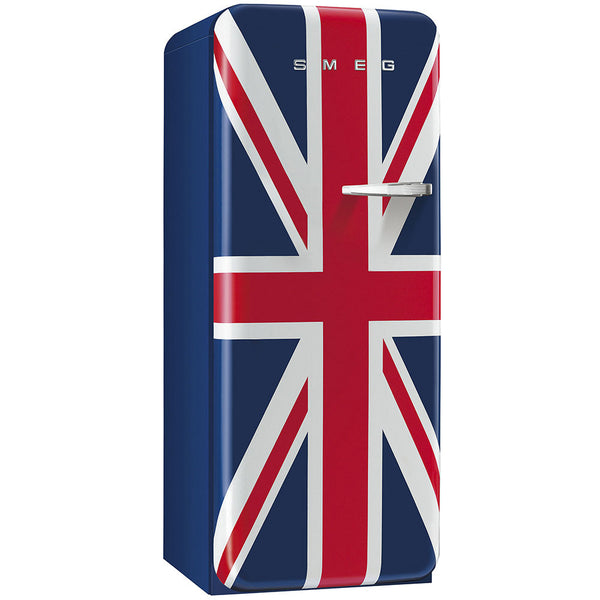 Smeg FAB28UUJL1 50s Style Refrigerator With Freezer Compartment. Special Edition Union Jack - Mega Supply Store