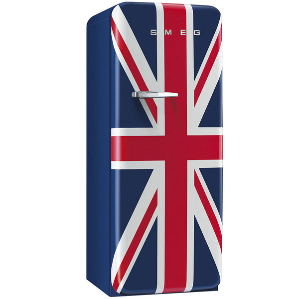 Smeg FAB28UUJR1 50s Style Refrigerator With Freezer Compartment. Special Edition Union Jack - Mega Supply Store