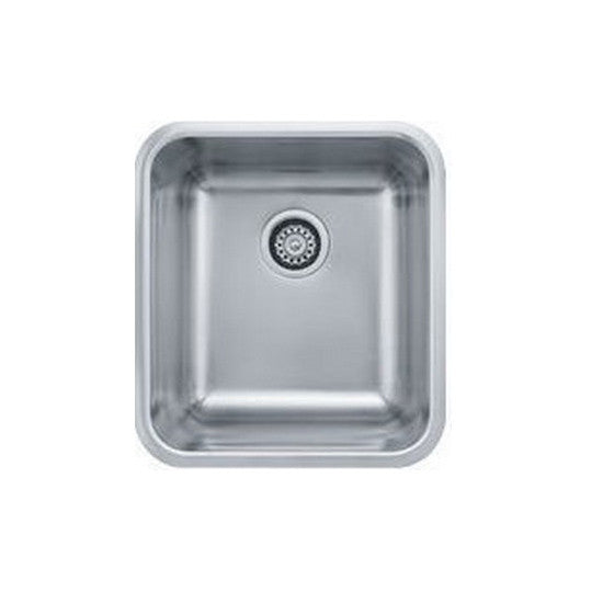 "Franke GDX11015 Stainless Steel Grande 18-3/4"" x 16-3/4"" Single Basin Undermount Kitchen Sink - Mega Supply Store"