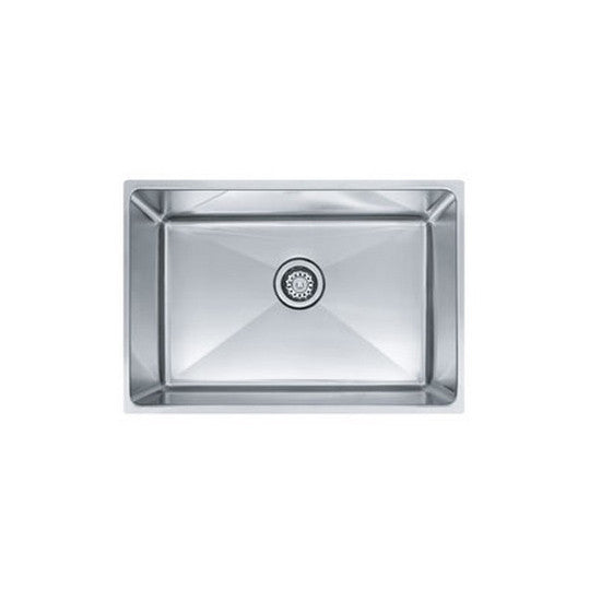"Franke PSX1102412 Stainless Steel Professional 25-1/2"" x 17-5/8"" Single Basin Undermount Kitchen Sink - Mega Supply Store"