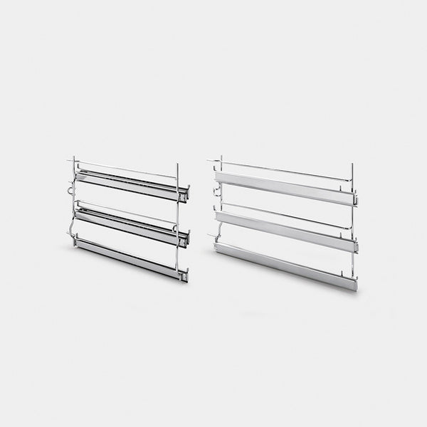 Smeg GTA-6 Glide Out Telescopic Racks For Use In A1Xu And A3Xu6 Ovens. - Mega Supply Store