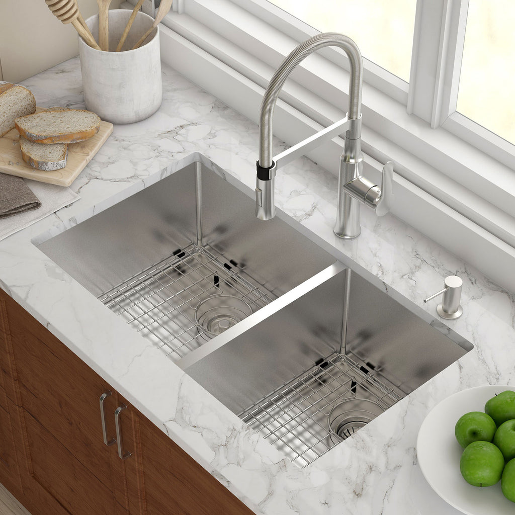 Kraus KHU103-33 Double Basin Undermount Kitchen Sink – Mega Supply Store