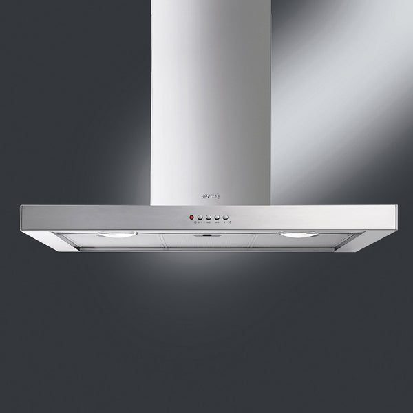 "Smeg KSM36XU 36"" Stainless Steel Ventilation Hood - Mega Supply Store - 1"