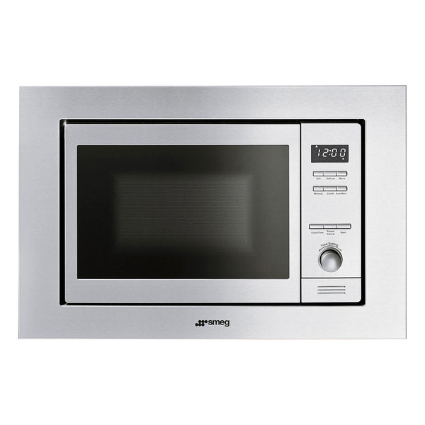 "Smeg MI20XU 24"" Classic Built-in Stainless Steel Microwave - Mega Supply Store - 1"