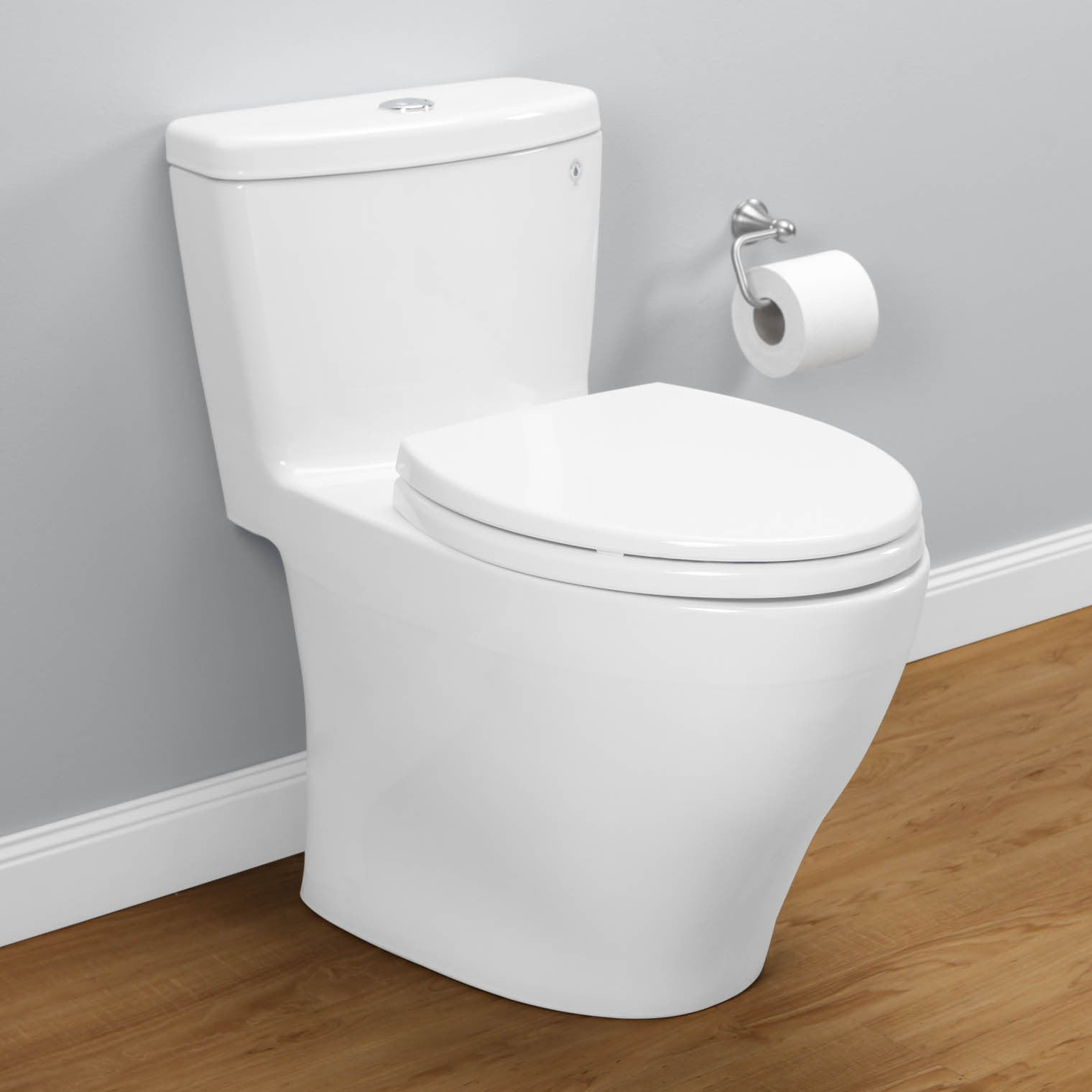 TOTO MS654114MF01 Aquia One Piece Toilet Dual Flush Elongated Bowl