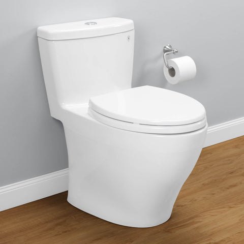 TOTO MS654114MF#01 Aquia One-Piece Toilet, Dual Flush, Elongated Bowl - Mega Supply Store