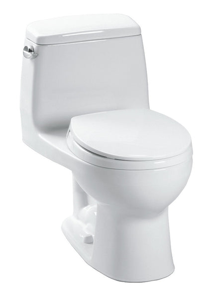TOTO MS854114#01 Ultimate One-Piece Toilet, 1.6 GPF, Elongated Bowl | Cotton/White - Mega Supply Store