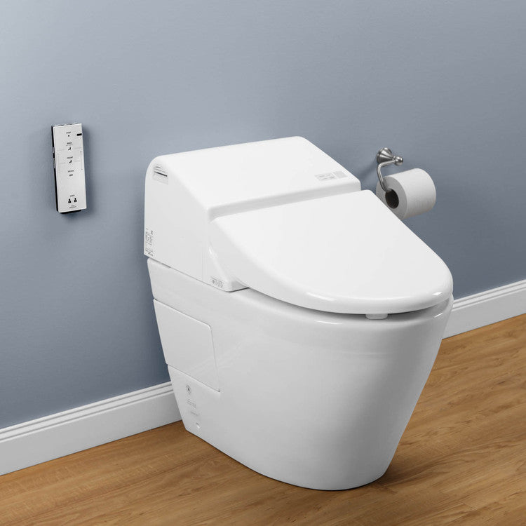 Toto Washlet toto ms970cemfg 01 washlet with integrated toilet g500 in cotton