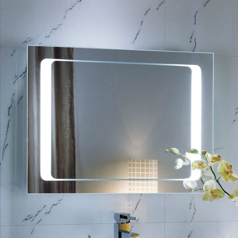 "Creators Civis CVJA2432LED LED 24"" x 32"" Jamie Lighted Bathroom Mirror - Mega Supply Store - 1"