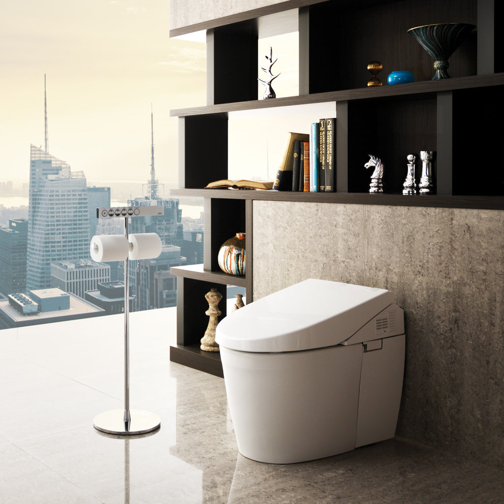 TOTO MS982CUMG 01 Neorest 550H Toilet with FREE 24  Royo Vitale  Wall Hung. TOTO MS982CUMG Neorest 550H Toilet with FREE 24  Royo Vitale