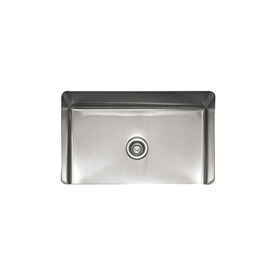 "Franke PSX110309 Stainless Steel 31-1/2"" x 19-1/2"" Single Basin Undermount Kitchen Sink - Mega Supply Store"