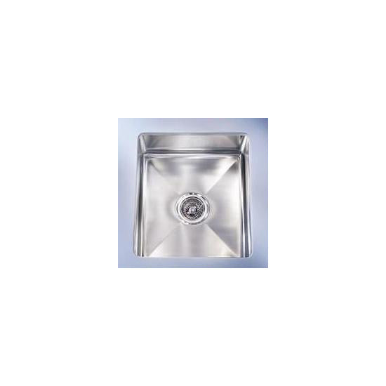 "Franke PSX110138 Stainless Steel Professional 14-4/7"" x 19-1/2"" Single Basin Undermount Kitchen Sink - Mega Supply Store"