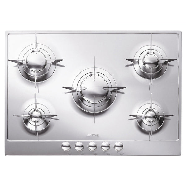 "Smeg PU75ES 28"" ""Piano Design"" Gas Cooktop - Mega Supply Store - 1"