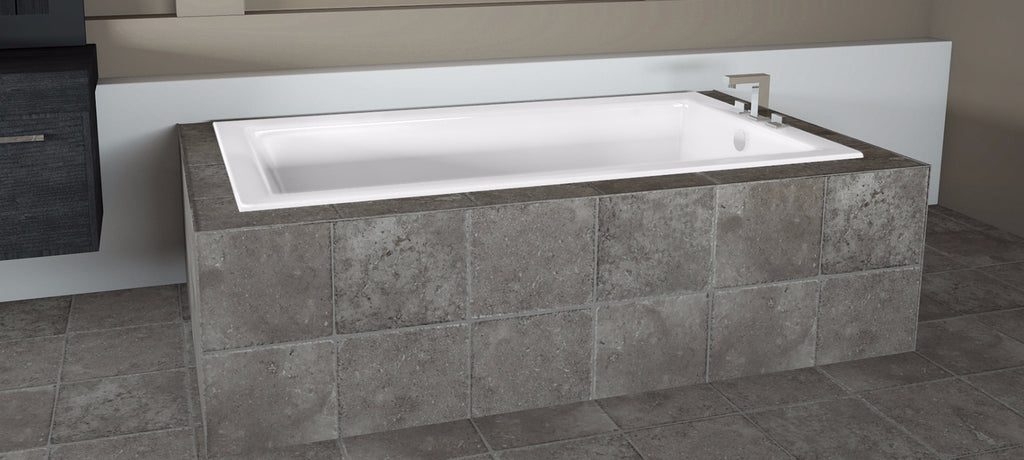 Bathroom Supply Store | Jacuzzi Elara 72 X 36 Soaking Bathtub White Sku