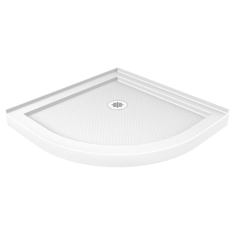 "DreamLine DLT-7033330 SlimLine 33"" by 33"" Quarter Round Shower Base - Mega Supply Store - 1"