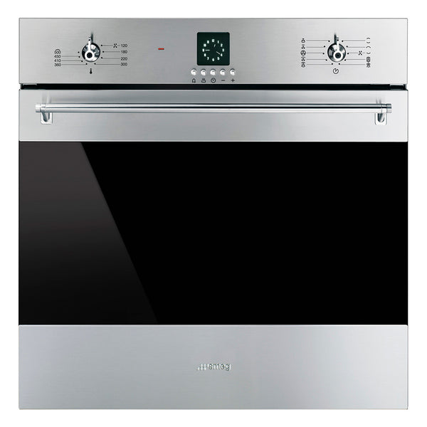 "Smeg SF399XU 24"" ""Classic"" Electric Multifunction Oven - Mega Supply Store - 1"