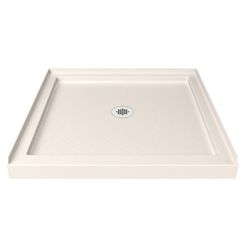 "DreamLine DLT-1136360-22 SlimLine 36"" by 36"" Single Threshold Shower Base in Biscuit Color - Mega Supply Store - 1"