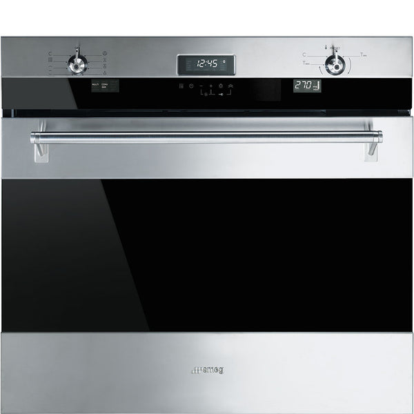"Smeg SOU330X1 30"" ""Classic"" Electric Multifunction Oven - Mega Supply Store - 1"