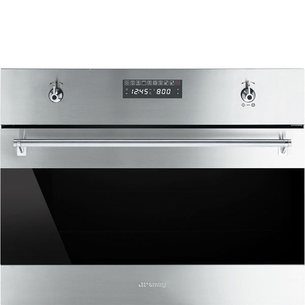 "Smeg SU45MCX1 24"" ""Classic"" Built-In Speed Oven - Mega Supply Store - 1"