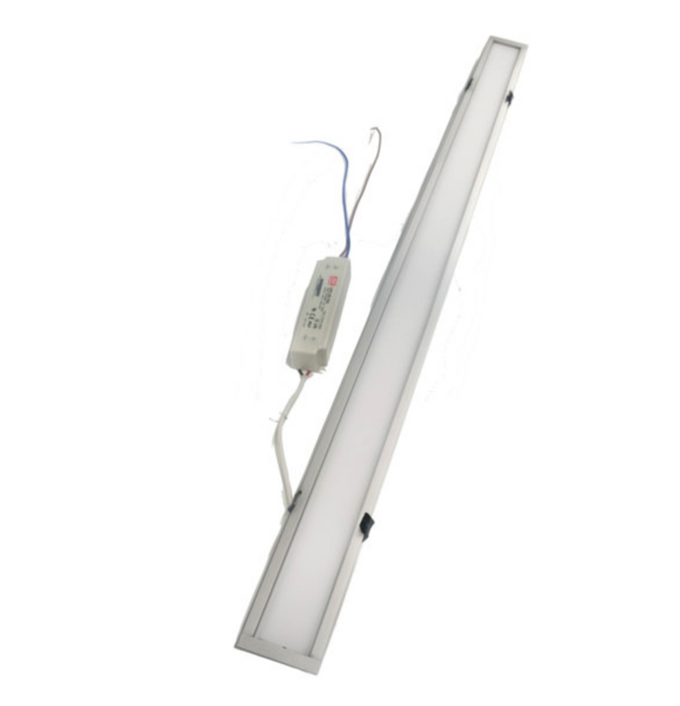 led recessed linear ceiling or wall light fixture  mega supply store, Lighting ideas