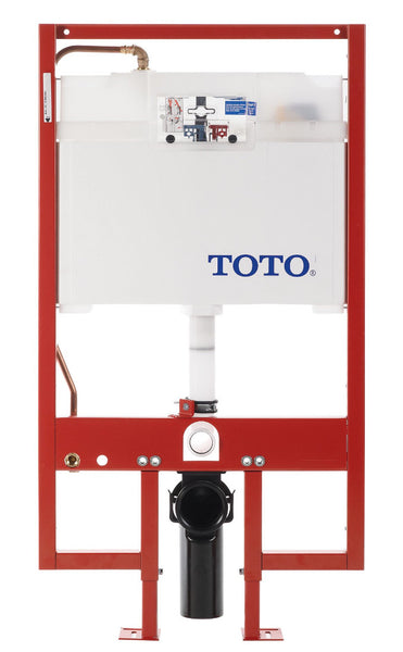 TOTO WT152M#01 DUOFIT In-Wall Tank System, 1.6 GPF & 0.9 GPF | Cotton/White - Mega Supply Store