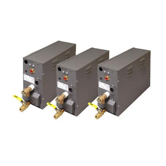 Amerec 9005-394 30KW Multiple Unit 240V 1 Phase Generators for Large Steam Rooms - Mega Supply Store