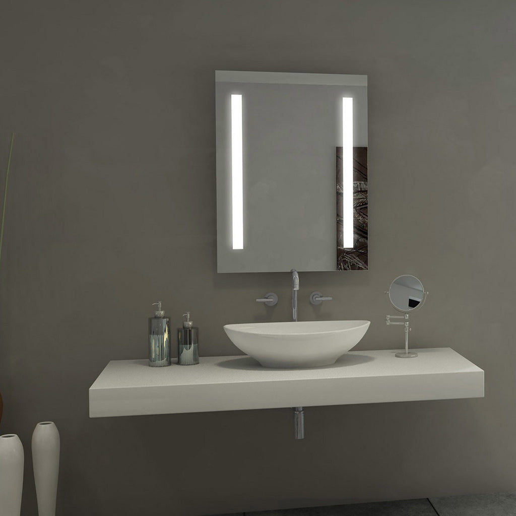 Sasha Alexandra Led Lighted Bathroom Mirror 30 Quot X 42