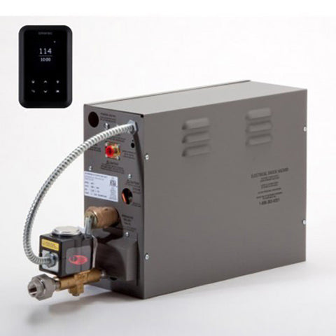 Amerec AT10 AT Steam Generator with AT Touch Control 10kW 208/240V - Warm Start Package - Mega Supply Store
