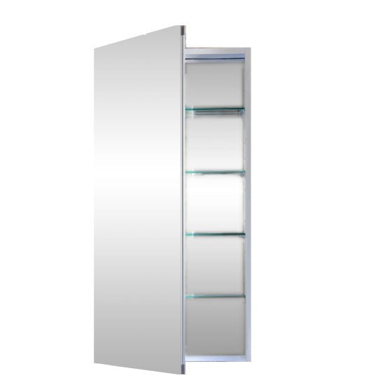 Flawless Anodized Aluminum Medicine Cabinet with Blum Soft Close Door Hinges  sc 1 st  Mega Supply Store & Flawless Anodized Aluminum Medicine Cabinet with Blum Soft Close ...