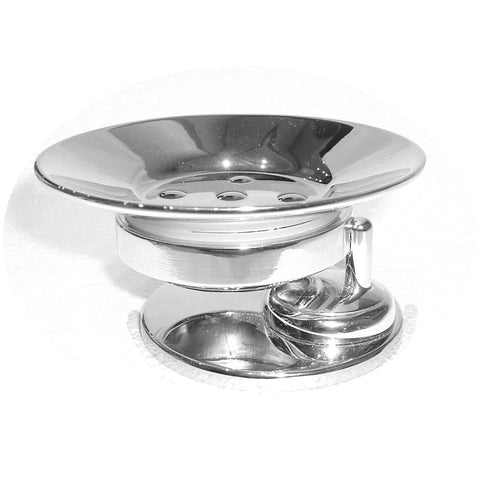 Artos C-14/4BN Cantori Freestanding Metal Soap Dish & Holder in Brushed Nickel - Mega Supply Store