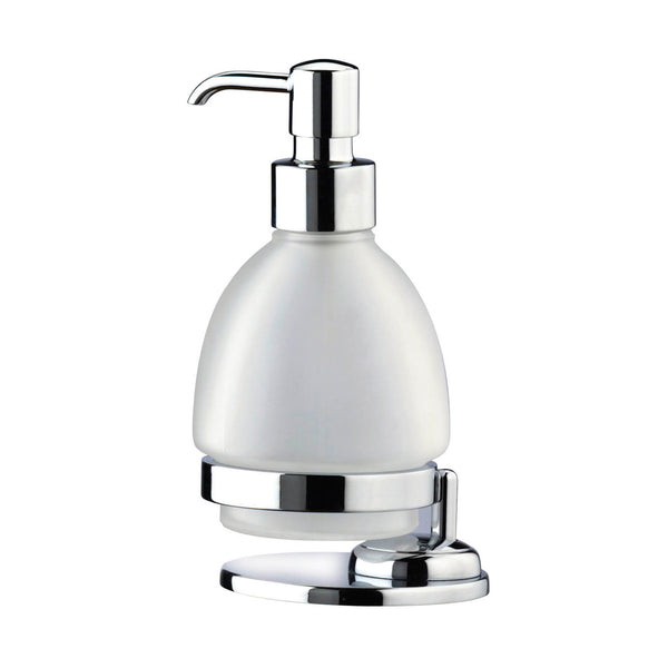 Artos C-15/3CH Cantori Freestanding Frosted Soap Dispenser in Chrome - Mega Supply Store