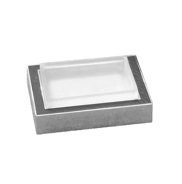 Artos DE-14BN Diora Free Standing Soap Dish in Brushed Nickel - Mega Supply Store
