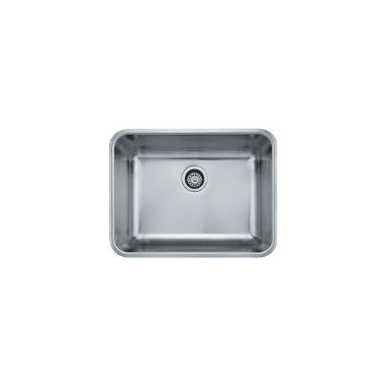 "Franke GDX11023 Stainless Steel Grande 18-3/4"" x 24-3/4"" Single Basin Undermount Kitchen Sink - Mega Supply Store"