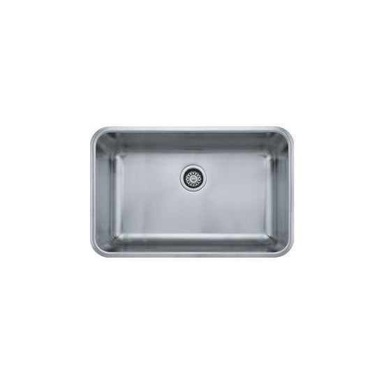 "Franke GDX11028 Stainless Steel Grande 19-1/8"" x 30-1/8"" Single Basin Undermount Kitchen Sink - Mega Supply Store"