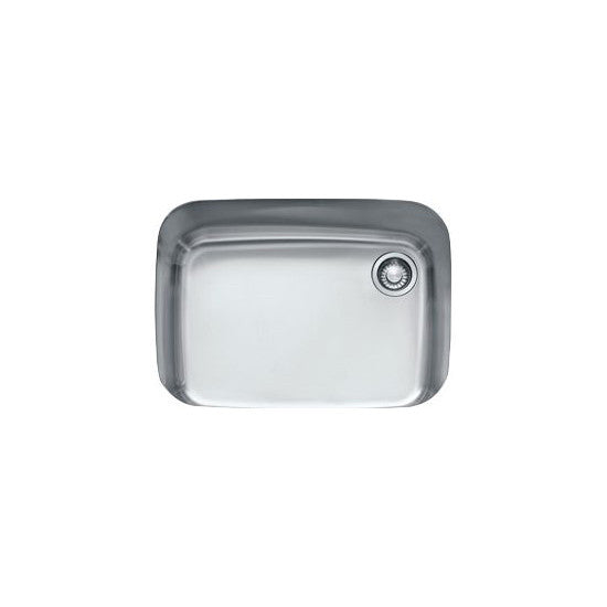 "Franke GNX11028 Stainless Steel Euro Pro 28-5/8"" Single Basin Undermount Kitchen Sink - Mega Supply Store"