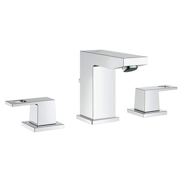 grohe  eurocube widespread bathroom faucet  mega supply store, Bathroom decor