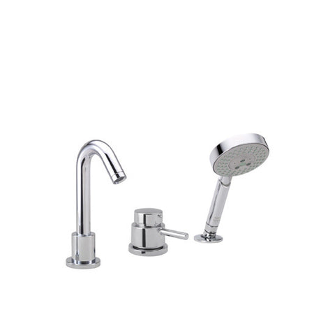 hansgrohe brushed nickel talis s tub filler faucet with volume controls non